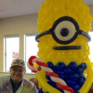 This Big Minion made for the local YMCA was uber popular!